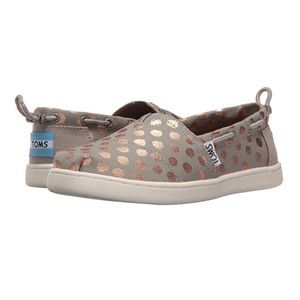 TOMS Kids Bimini Slip on Rose Gold  [Y13]